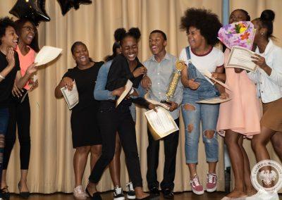 2019 Poetry Slam Winner Kenya C Celebrates
