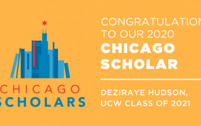 UCW Rising Senior Deziraye Hudson Selected as 2020 Chicago Scholar