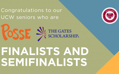 Five UCW Seniors Selected as Semifinalist and Finalists for Competitive College Scholarships