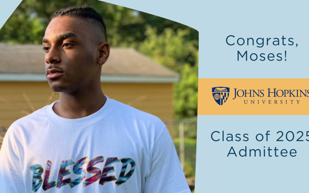 UCW Senior Moses Corona Admitted to Johns Hopkins Class of 2025