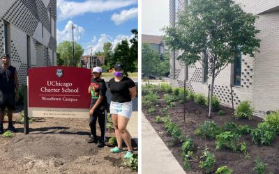 UCW Pollinator Project Planting Day Convenes Community