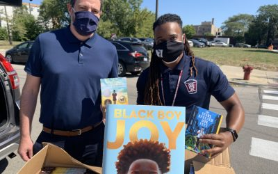 UCW Middle School Granted Hundreds of Books by 16 Lyrics' Initiative: Representation Matters